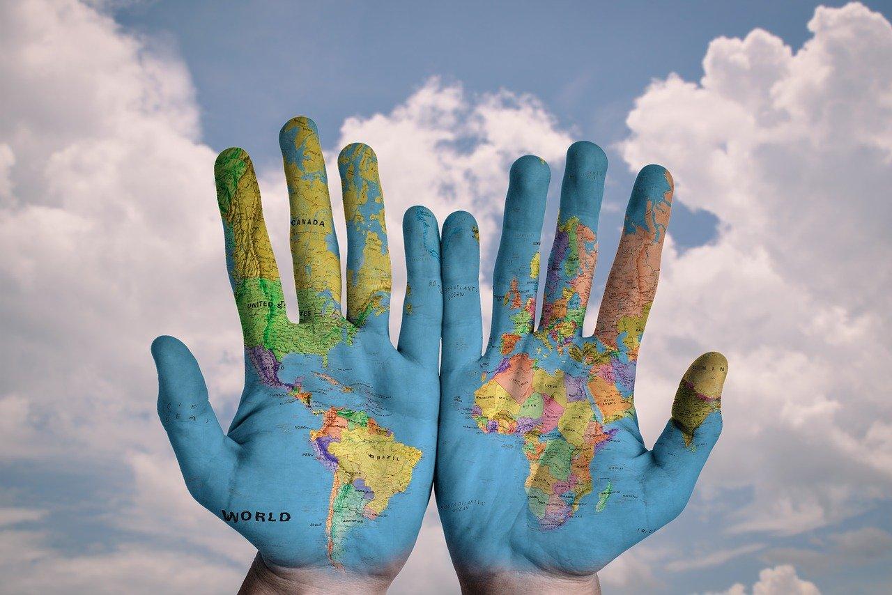 両手、国、ランキング