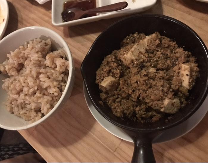 kiboko、麻婆豆腐