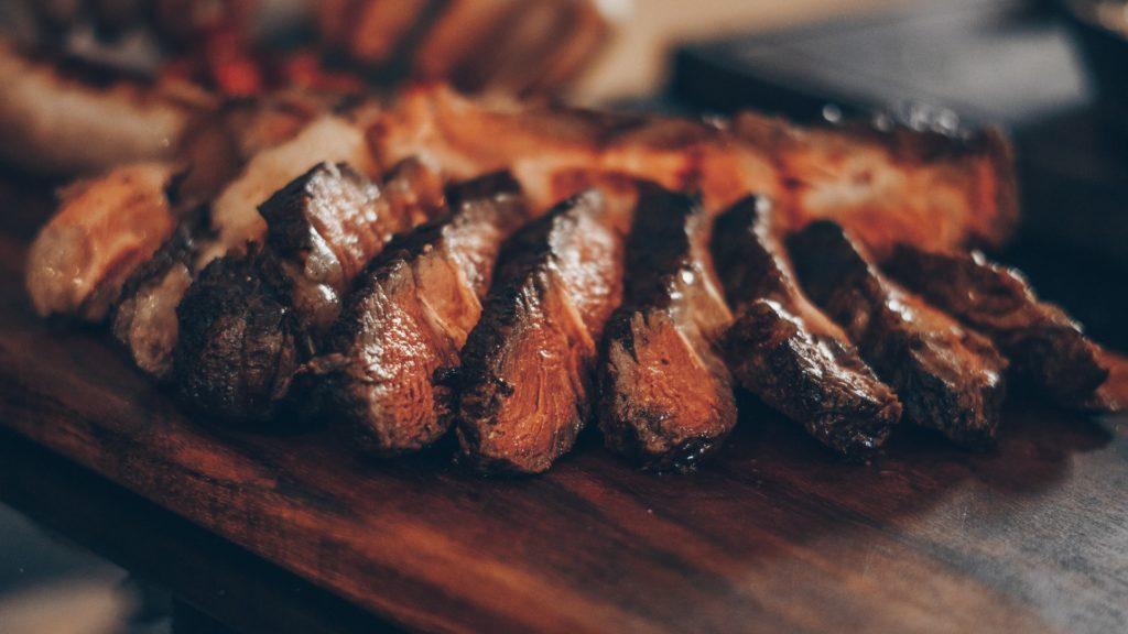 肉、酸性食品
