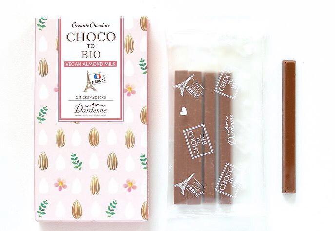 チョコっとビオ、チョコレート
