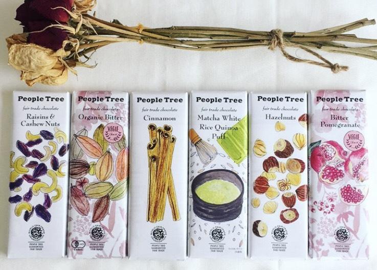 ピープルツリー、チョコレート