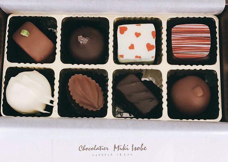サロンドゥショコラミキ、チョコレート、バレンタイン