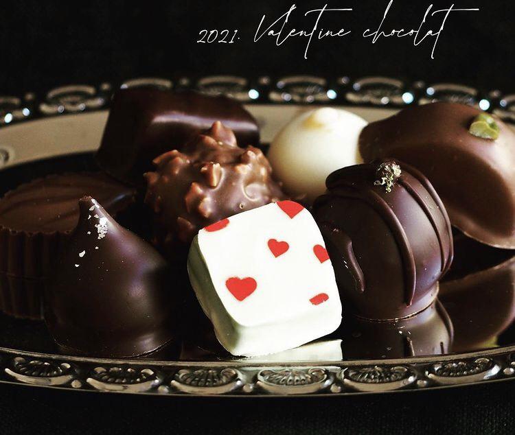 ヴィーガン、チョコレート、バレンタイン
