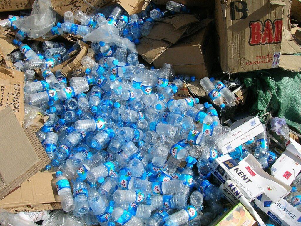 リサイクル、ペットボトル